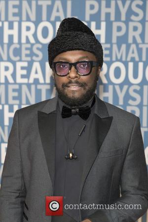 Will.I.Am seen on the Red Carpet for the 2017 Breakthrough Prize awards held at NASA Ames Research Center in Mountain...