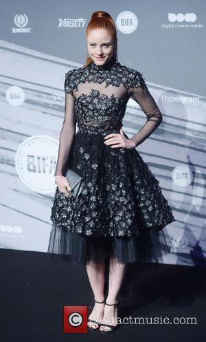 Barbara Meier seen attending the 2016 British Independent Film Awards held at Old Billingsgate Market - London, United Kingdom -...