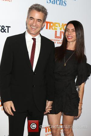 Dermot Mulroney and Tharita Cesaroni attending the Trevor Project's 2016 TrevorLIVE LA held at The Beverly Hilton Hotel  -...