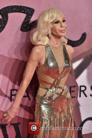 Donatella Versace at the 2016 Fashion Awards held at the Royal Albert Hall - London, United Kingdom - Monday 5th...