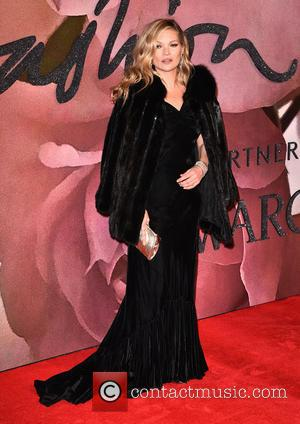 Kate Moss at The Fashion Awards 2016 held at the Royal Albert Hall - London, United Kingdom - Monday 5th...
