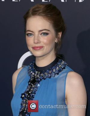 Emma Stone at the Premiere of Lionsgate's 'La La Land' held at Mann Village Theatre, Los Angeles, California, United States...