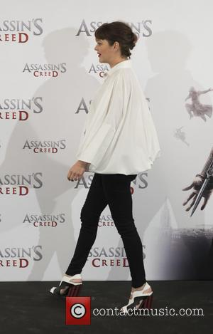 Marion Cotillard seen alone and with Michael Fassbender at a photocall for 'Assassin's Creed' held at the VillaMagna hotel -...
