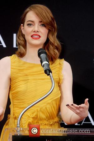 Emma Stone at Tcl Chinese Theater Imax