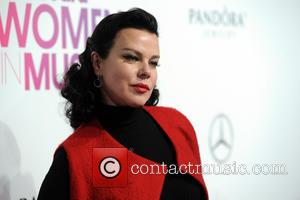 Debi Mazar seen on the red carpet at the 2016 Billboard Women In Music event held at Pier 36, New...