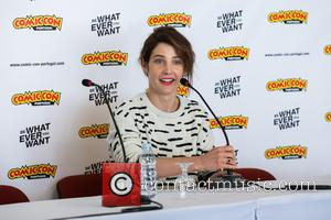 Cobie Smulders at Comic Con