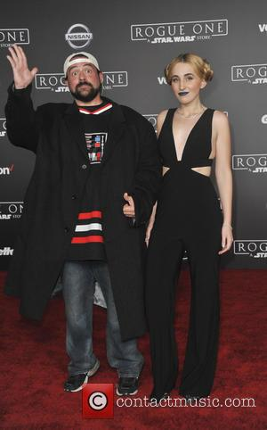 Kevin Smith at the World premiere of 'Rogue One: A Star Wars Story' held at Pantages Theatre, Los Angeles, California,...