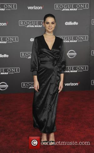 Maia Mitchell at the World premiere of 'Rogue One: A Star Wars Story' held at Pantages Theatre, Los Angeles, California,...