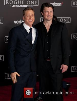 Alan Tudyk and Nathan Fillion
