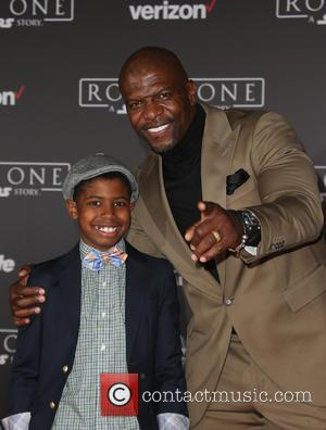 Terry Crews and Isaiah Crews