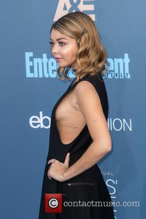 Sarah Hyland at the 22nd Annual Critics' Choice Awards held at Barker Hangar, Critics' Choice Awards - Santa Monica, California,...