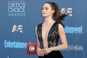 Emmy Rossum seen alone and with Sam Esmail at the 22nd Annual Critics' Choice Awards held at Barker Hangar, Critics'...