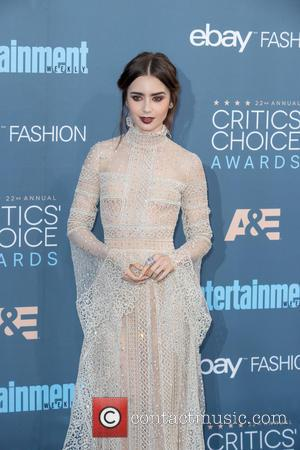 Lily Collins Planning On Having A Family Christmas