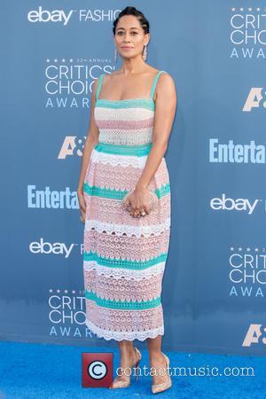 Tracee Ellis Ross at the 22nd Annual Critics' Choice Awards held at Barker Hangar, Critics' Choice Awards - Santa Monica,...