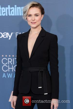 Evan Rachel Wood at the 22nd Annual Critics' Choice Awards held at Barker Hangar, Critics' Choice Awards - Santa Monica,...