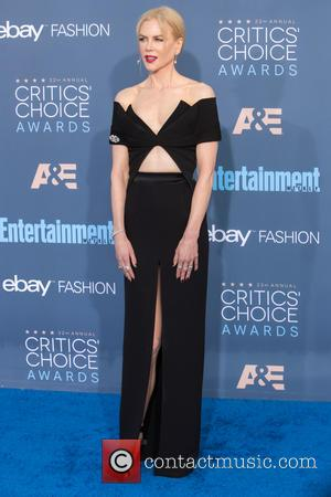 Nicole Kidman at the 22nd Annual Critics' Choice Awards held at Barker Hangar, Critics' Choice Awards - Santa Monica, California,...