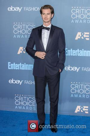 Andrew Garfield at the 22nd Annual Critics' Choice Awards held at Barker Hangar, Critics' Choice Awards - Santa Monica, California,...