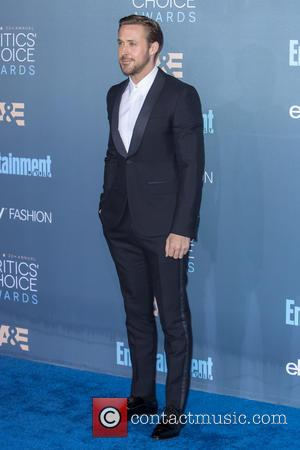 Ryan Gosling at the 22nd Annual Critics' Choice Awards held at Barker Hangar, Critics' Choice Awards - Santa Monica, California,...