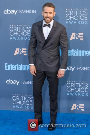 Ryan Reynolds at the 22nd Annual Critics' Choice Awards held at Barker Hangar, Critics' Choice Awards - Santa Monica, California,...