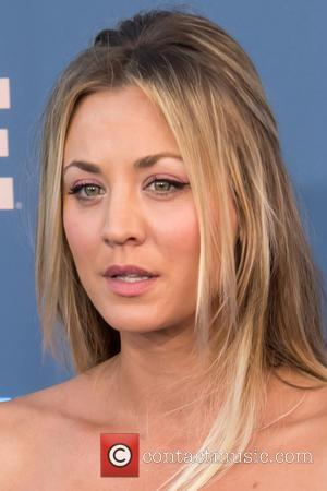 Kaley Cuoco at the 22nd Annual Critics' Choice Awards held at Barker Hangar, Critics' Choice Awards - Santa Monica, California,...