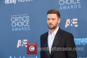 Justin Timberlake at the 22nd Annual Critics' Choice Awards held at Barker Hangar, Critics' Choice Awards - Santa Monica, California,...