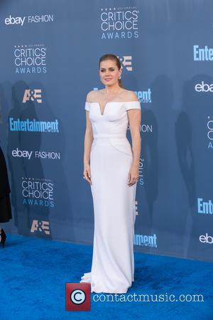 Amy Adams seen alone and with her husband Darren Le Gallo at the 22nd Annual Critics' Choice Awards held at...