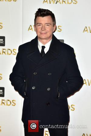 Rick Astley at the BBC Music Awards held at the Excel Centre, London, United Kingdom - Monday 12th December 2016