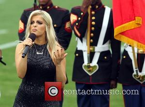 BeBe Rexha performing at the Rams game. The Atlanta Falcons defeated the Los Angeles Rams by the final score of...