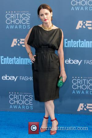 Robin Tunney at the 22nd Annual Critics' Choice Awards held at Barker Hangar, Critics' Choice Awards - Santa Monica, California,...