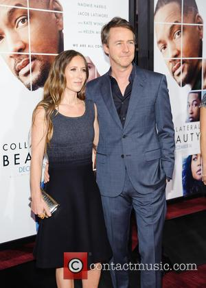 Shauna Robertson and Edward Norton