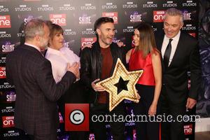 Graham Norton, Mel Giedroyc, Gary Barlow, Dannii Minogue and Martin Kemp