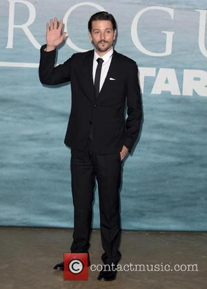 Diego Luna at the Rogue One: A Star Wars Story UK Premiere held at Tate Modern,  London, United Kingdom...