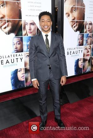 Jacob Latimore at the premiere of Collateral Beauty held at   Jazz at Lincoln Center's Frederick P. Rose Hall,...