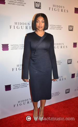 Taraji P. Henson at the 'Hidden Figures' Washington, D.C. Premiere held at the Museum of African American History and Culture...