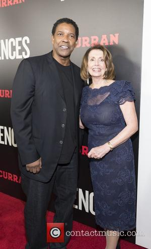 Denzel Washington at a screening in the Curran Theatre, of Fences. Denzel Washington was joined by Jovan Adepo, Myklti Williamson,...