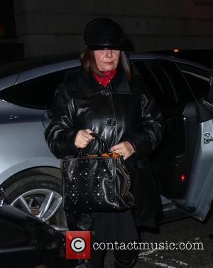 Dawn French arrives at radio 2 for her appearance on the Chris Evans Show - London, United Kingdom - Friday...