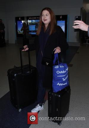 Actress Bonnie Wright arrives at LAX airport - Los Angeles, California, United States - Saturday 17th December 2016