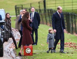 Prince William, Duke Of Cambridge, Prince George, Kate Middleton, Catherine Duchess Of Cambridge, Princess Charlotte and Pippa Middleton