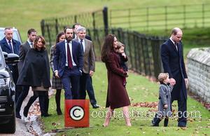 Prince William, Duke Of Cambridge, Catherine Duchess Of Cambridge, Prince George, Princess Charlotte, Kate Middleton, Pippa Middleton, James Middleton, Michael Middleton, Carole Middleton and James Matthews