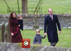 Prince William, Duke Of Cambridge, Catherine Duchess Of Cambridge, Kate Middleton, Prince George and Princess Charlotte