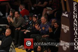 Celebrities including Mindy Kaling attend the Lakers game. The Utah Jazz defeated the Los Angeles Lakers by the final score...