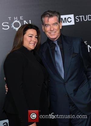 Keely Shaye and Pierce Brosnan