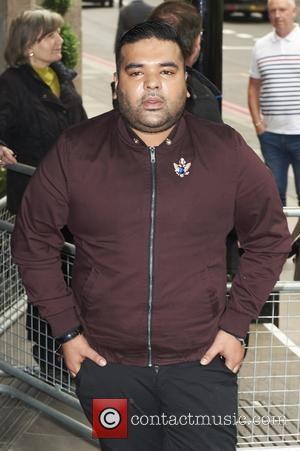 Naughty Boy seen arriving at the 2017 Ivor Novello Awards held at Grosvenor House Hotel - London, United Kingdom -...