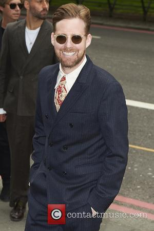 Ricky Wilson seen arriving at the 2017 Ivor Novello Awards held at Grosvenor House Hotel - London, United Kingdom -...