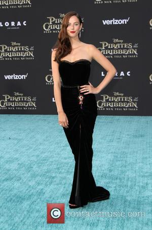 Kaya Scodelario at the Premiere Of Disney's