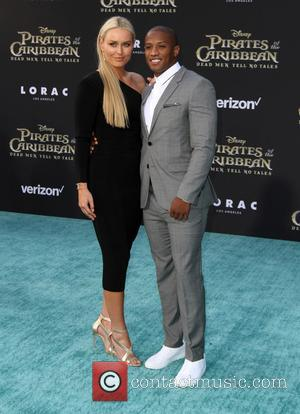 Lindsey Vonn and Kenan Smith