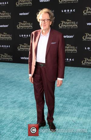 Geoffrey Rush at the Premiere Of Disney's