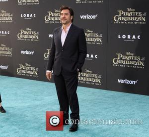 Javier Bardem at the Premiere Of Disney's