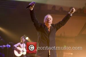Jim Kerr and the rest of Simple Minds perform an acoustic set at the Royal Concert Hall - Glasgow, Scotland,...