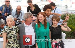 Michelle Williams, Todd Haynes, Julianne Moore, Jaden Michael and Millicent Simmonds